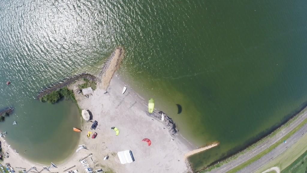 Kite Tender spot Muiderzand